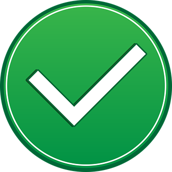 Confirmation, Symbol, Icon, Green