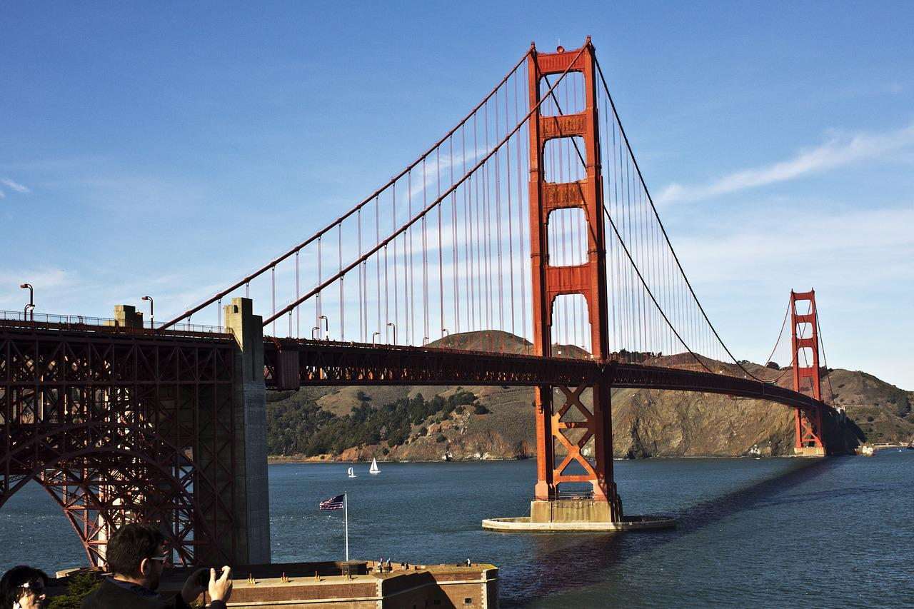 фото с моста в сан франциско разета