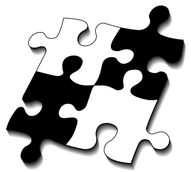Puzzle, Share, Four, Fit