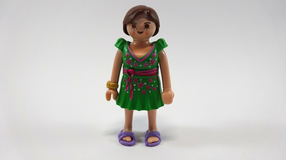 Women S Secret Toys : Free photo woman dress toys playmobil image on