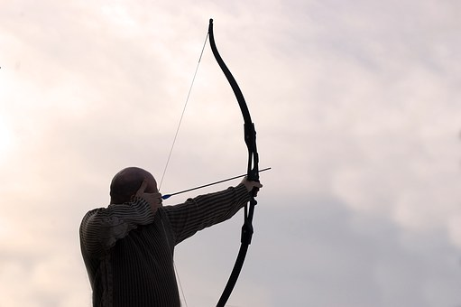 Archer, Arrow, Man, Bow, Aim, Weapon