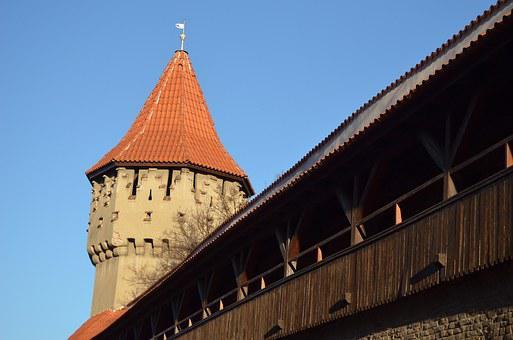 Tower, Wall, Architecture, Building