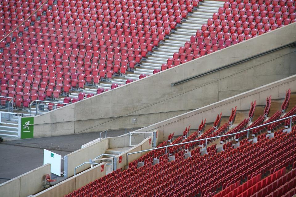 Fussball Tribune Stadion Kostenloses Foto Auf Pixabay