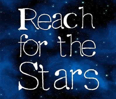 Stars, Reach, Success, Motivation