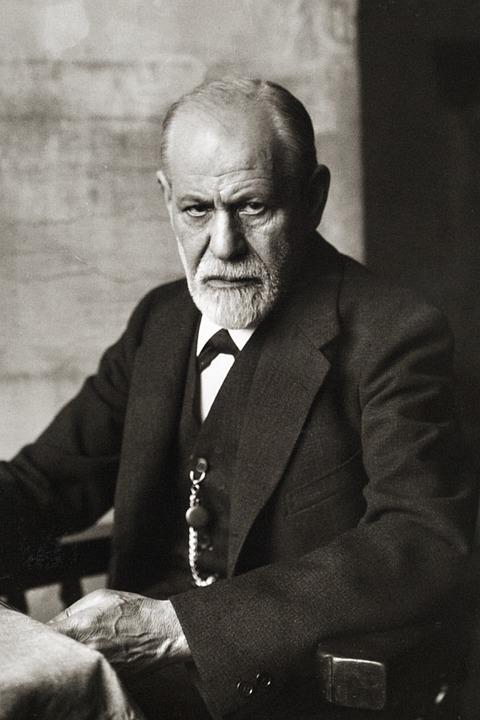 Sigmund Freud, Retrato 1926, Fundador Da Psicanálise