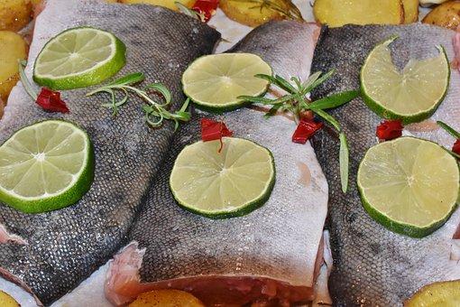 Lachs, Lachsfilet, Fisch, Frisch, Roh