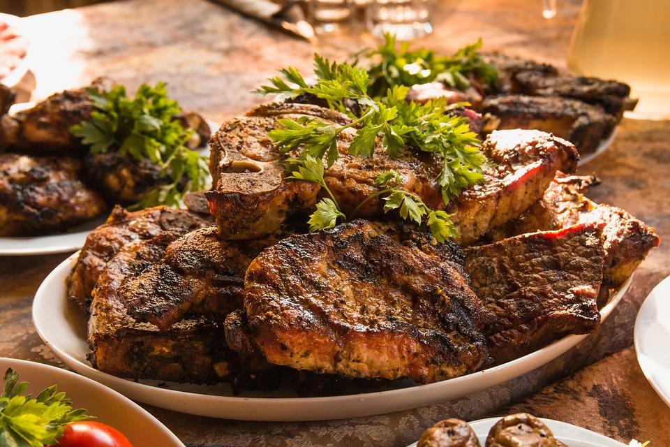 Carne, Cibo, Bbq, Carne Fritta, Shish Kebab, Griglia