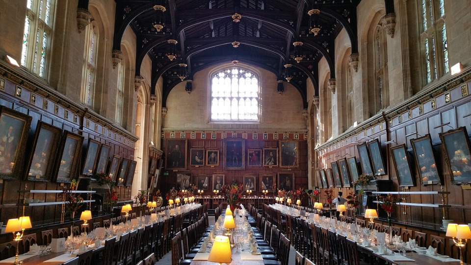 Harry potter-eating area