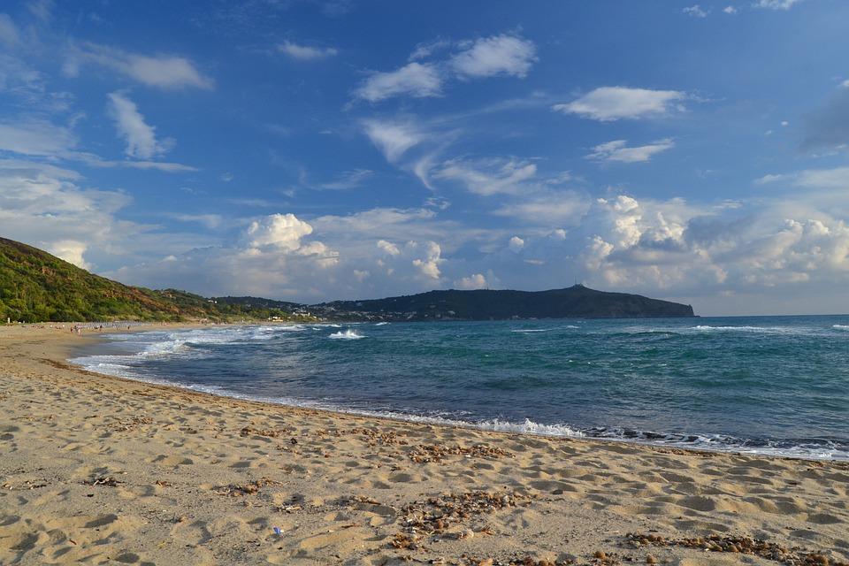 Mare, Spiaggia, Estate, Palinuro, Sabbia, Turismo