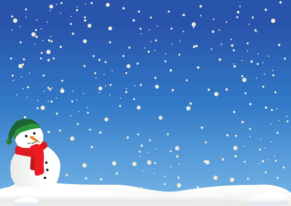 Winter Schnee Schneemann · Kostenlose Vektorgrafik auf Pixabay