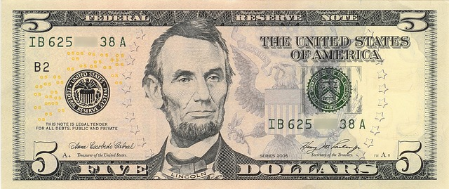 dollar banknote abraham lincoln free photo on pixabay. Black Bedroom Furniture Sets. Home Design Ideas
