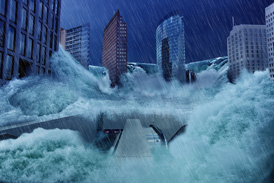 sueños con inundación