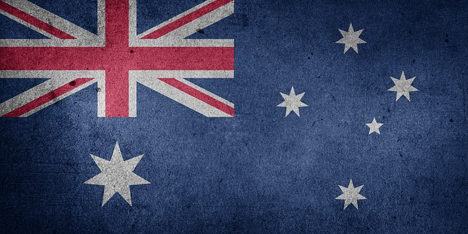 Australien, Oceania, Nationalflagge