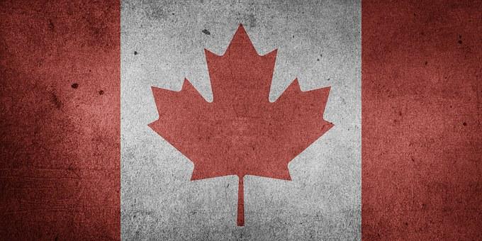 Kanada, Nordamerika, Nationalflagge