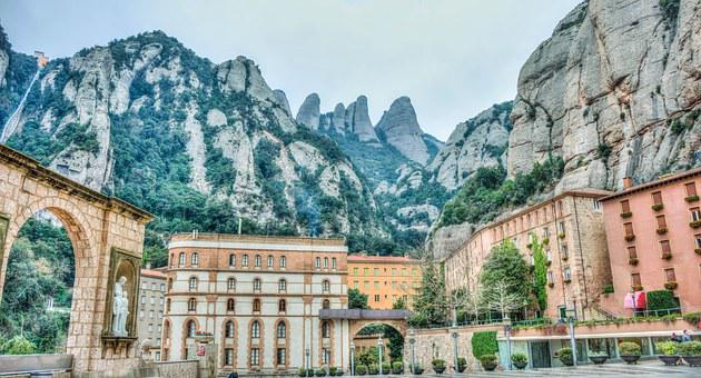 Montserrat, Mountains, Spain, Catalonia