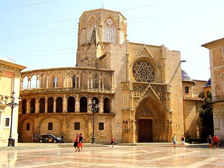 Fachada Catedral de Valencia