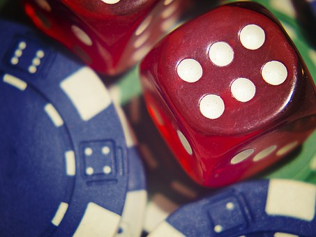 Dice, Gamble, Poker, Chips, Jackpot, Win