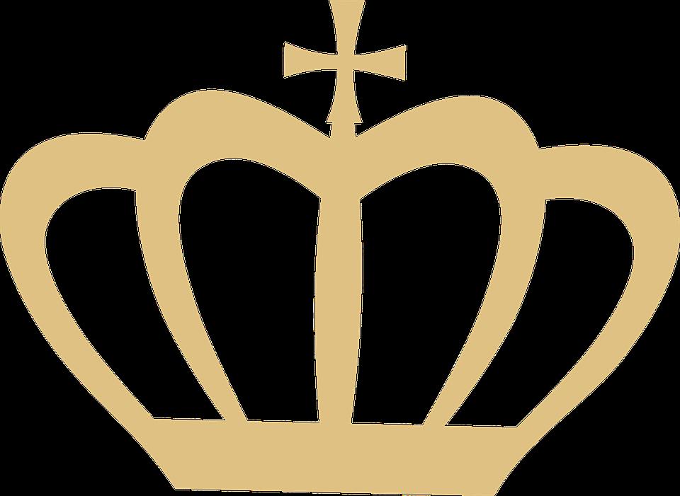 Coroa silhueta ouro clip imagens gr tis no pixabay - Clipart couronne ...