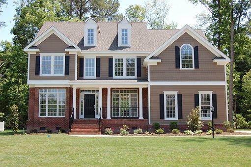 House, Country House, Exterior, Facade