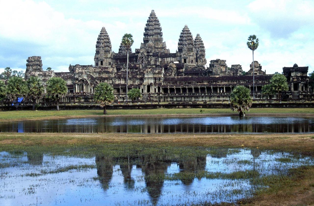 アンコールワット寺院, 12世紀, カンボジア, アジア, プリヤ・カーン, クメール語, クメール建築