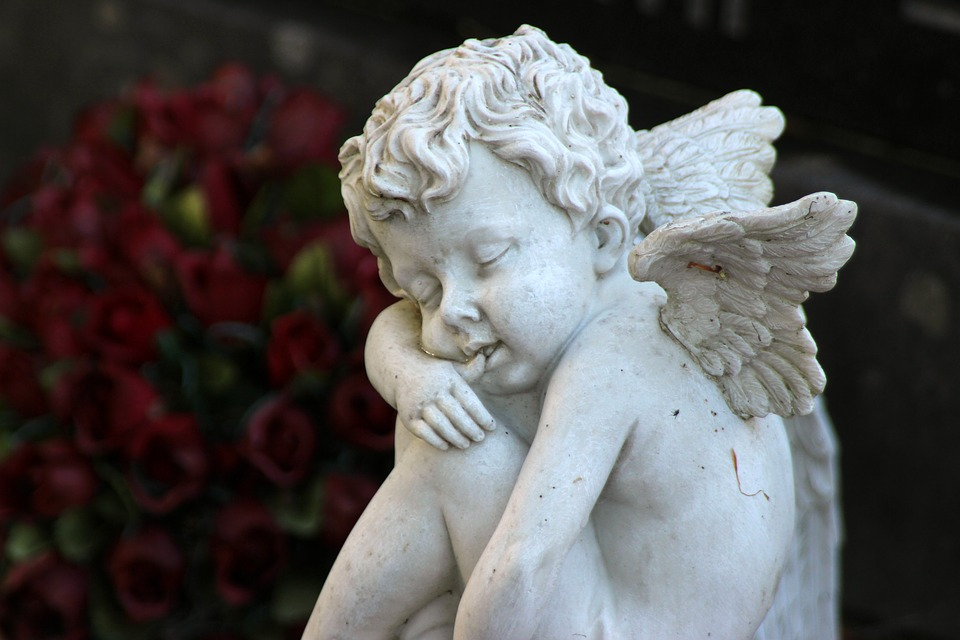 cemetery angel free images on pixabay