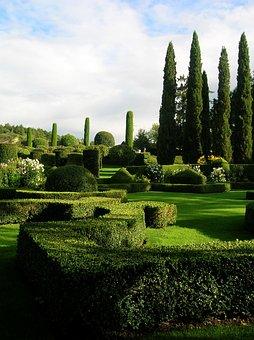 French Garden, 18Th Century