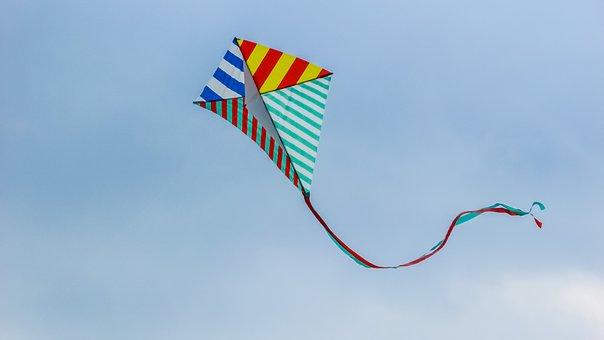 Kite, Fly, Wind, Fun, Kite, Kite, Kite