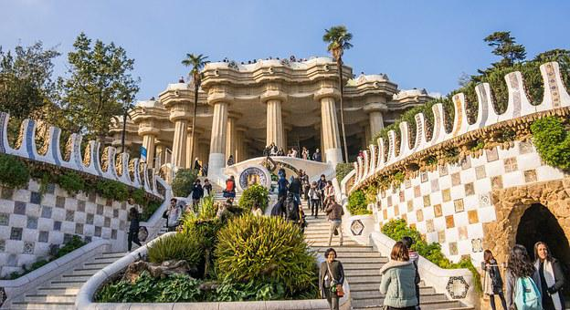vista Parque Güell Barcelona