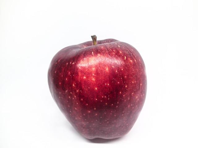 fruit apple red white  u00b7 free photo on pixabay
