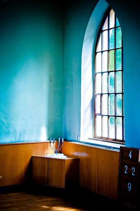Reste, Fenêtre De L'Église, Salle De Prière, Fenêtre