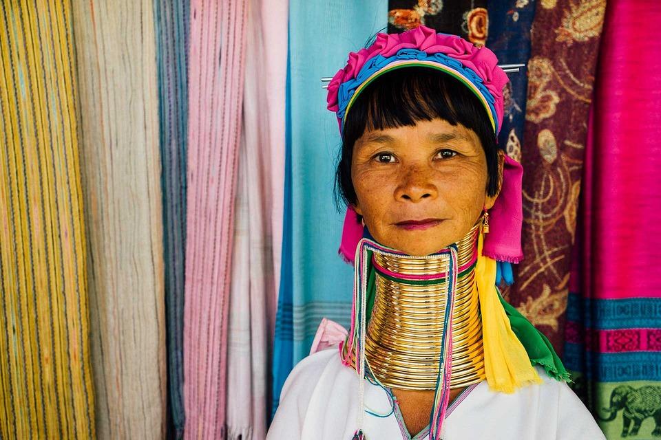 Thailand Lang Hals Kvinde · Gratis foto på Pixabay