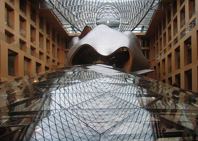 Free Photo Dz Bank Berlin Frank Gehry Free Image On