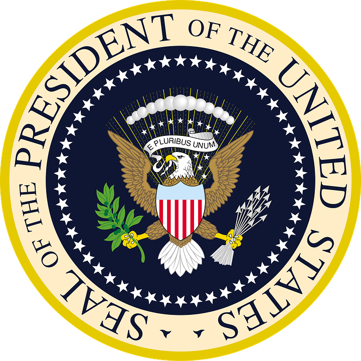 seal president of the united free image on pixabay rh pixabay com Current Presidential Seal Make Your Own Presidential Seal
