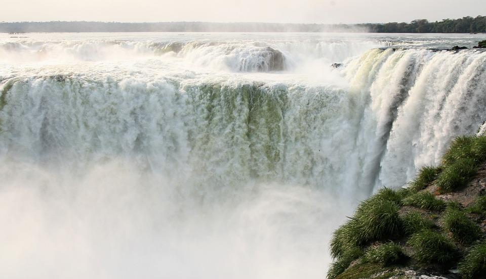 風景, イグアスの滝, アルゼンチン, 南アメリカ