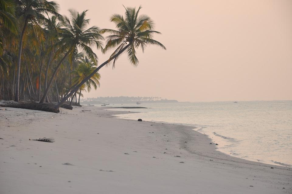 Beach, India, Lakshadweep, Sunset