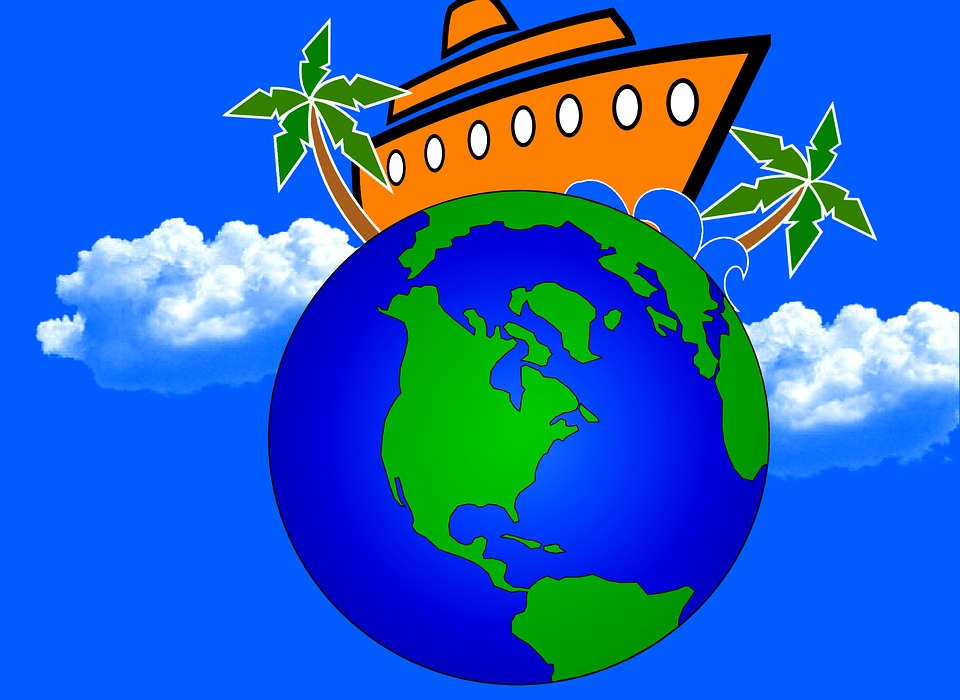 De vacances globe voyage autour du image gratuite sur - Decoration voyage autour du monde ...