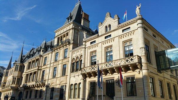 El Gran Palacio del Ducado Luxemburgo
