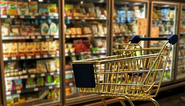 Shopping Business Retail Shopping Cart Tra