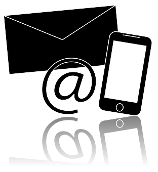 Contact, Mobile Phone, Envelope, Website