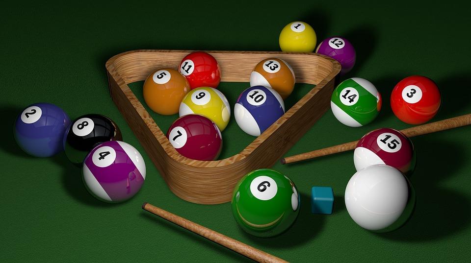 Billard, Spiel, 3D, Bälle, Spielen, Sport, Schwimmbad