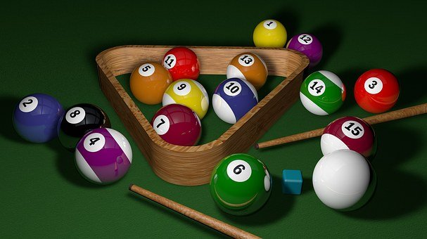 Billiards, Game, 3D, Balls, Play