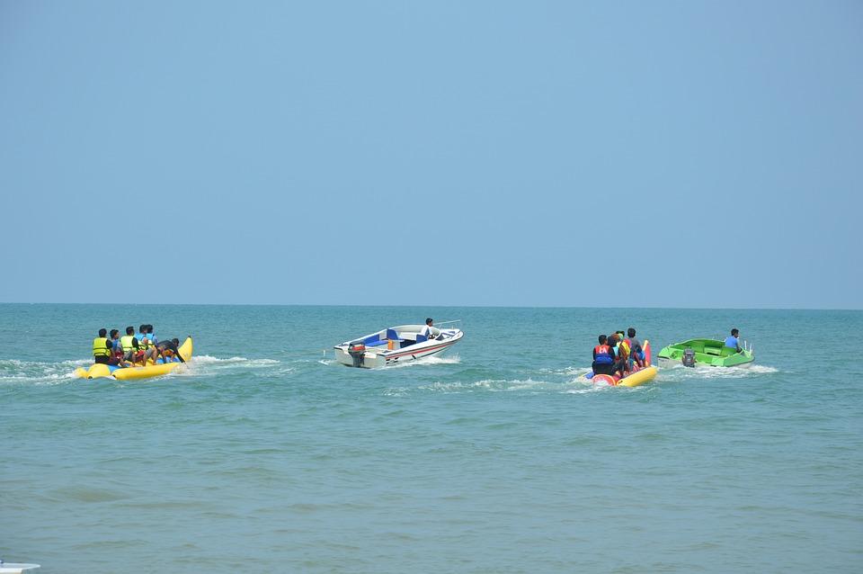 Banana Boat, Sea, Boat, Beach, Water, Ocean, Banana