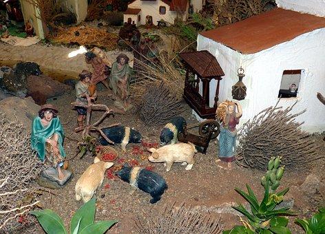 Spain, Village, Historically