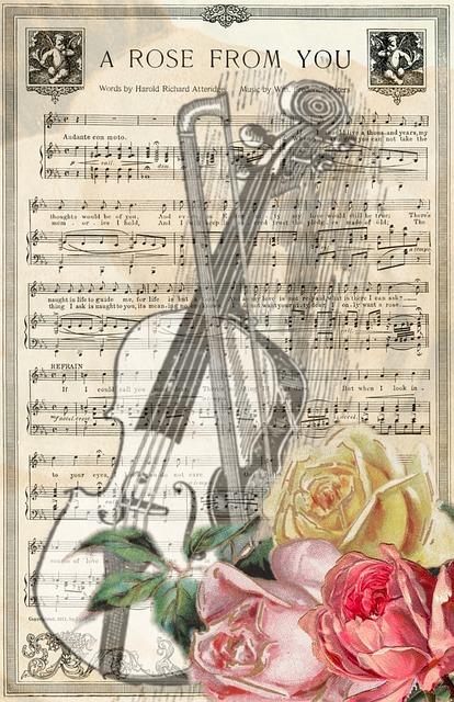 Vintage Violin Music 183 Free Image On Pixabay