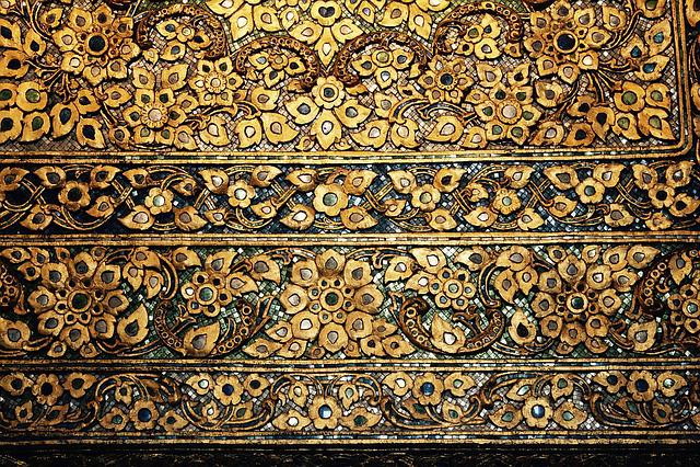 Mosaic Tiles Gold Free Photo On Pixabay