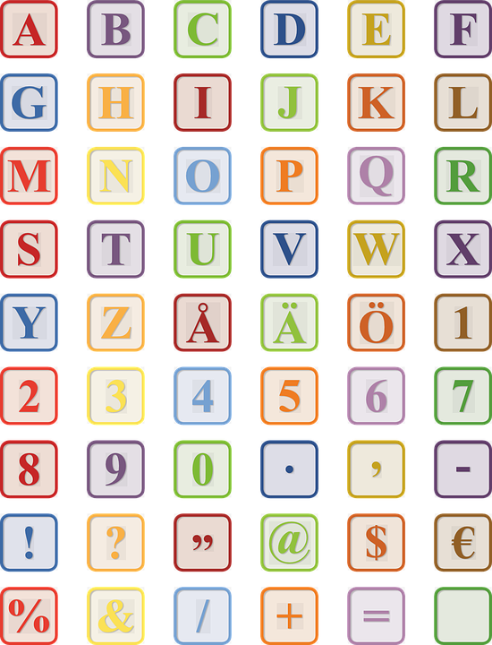 Alphabet Letter Block   Free vector graphic on Pixabay