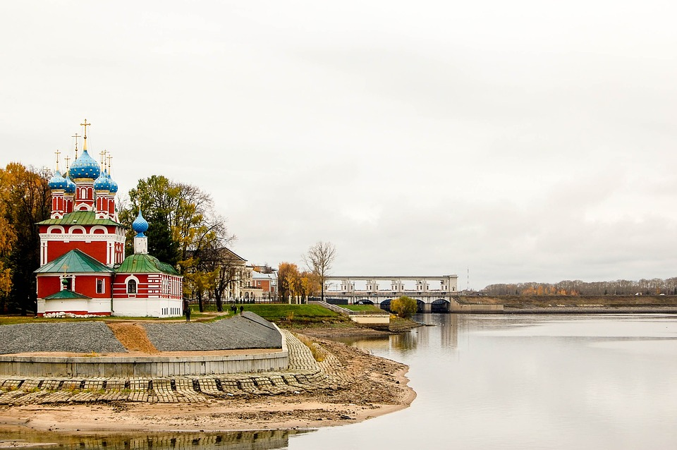 Architecture, Church, Reference Point, Landscape, River