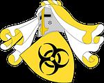 shield, mantle, biohazard