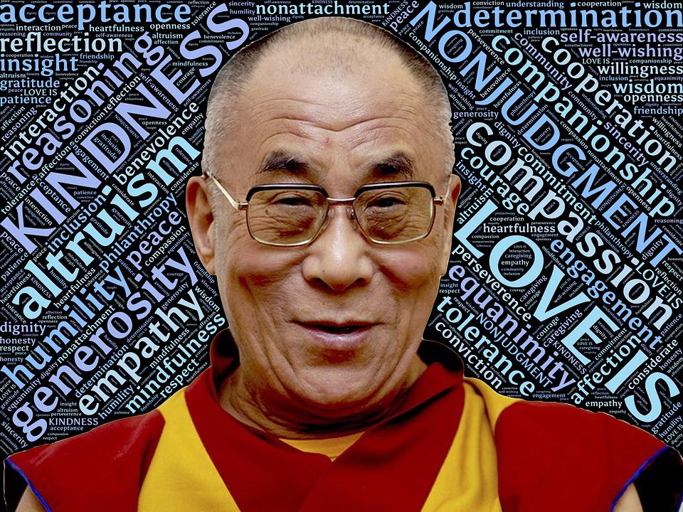 Dalai Lama, Heiligheid, Dol Zijn Op