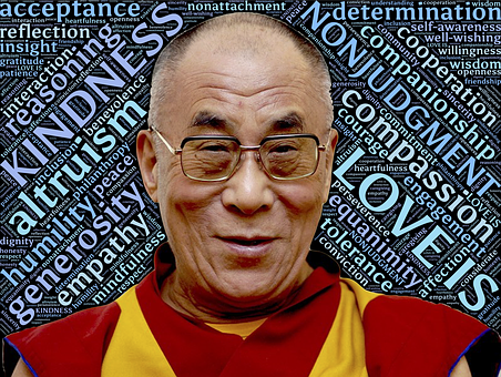 Dalai Lama Holiness Love Loving Kindness N